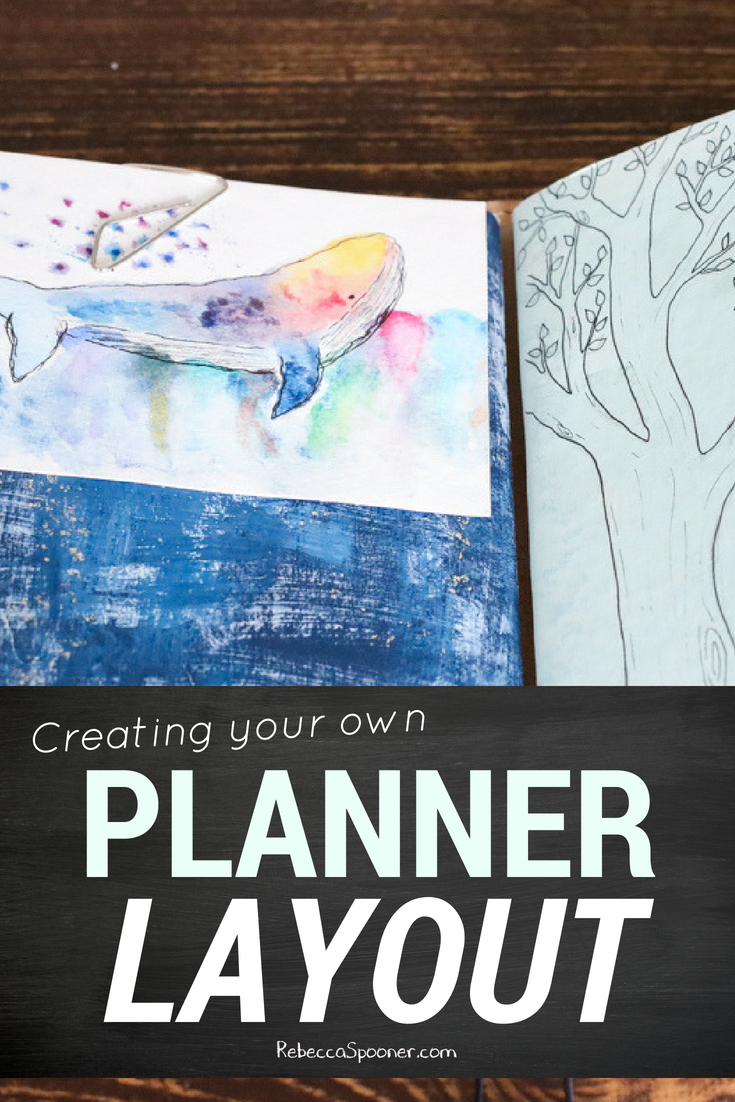 Creating your own planner layout